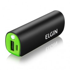 Power Bank 1 USB com LED 2600mAh CP2600 Elgin CP2600000
