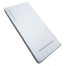 Power Bank 8000mAh 2USB com Lanterna LED JWCOM CPC-L28 - Prata