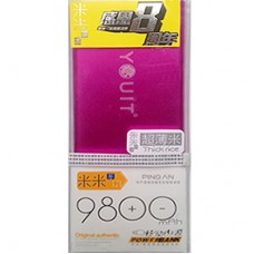 Power Bank Pingan 9800 mAh - Pink