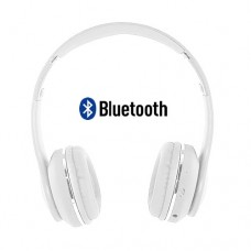 Headphone sem Fio Bluetooth/SD/P2 com Microfone Ultra Bass Altomex A-859 - Branco