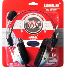 Headphone Stéreo com Microfone WL-301MV