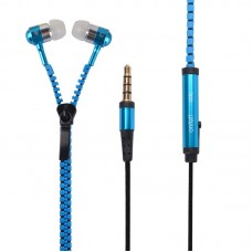 Earphone Ziper - Azul