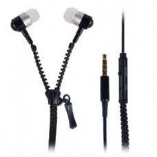 Earphone Ziper - Preto