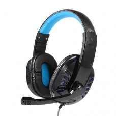 Headphone Gamer USB para PC, PS3 e PS4 com Micro LED Exbom HF-G310P4 - Azul