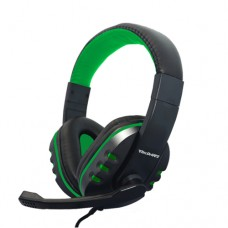 Fone de Ouvido Headset Gamer P3 para PS4, Xbox One, Celular e Tablets TecDrive F-12 - Verde