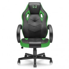 Cadeira Gamer Warrior Verde Multilaser GA160