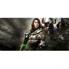 Mouse Pad Gamer Exbom MP-9040A 90x40x0,3mm - Cavaleiros