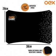 Mouse Pad Gamer Fade Superfície Speed Antiderrapante Resistente a Água 380x280x3mm OEX MP307