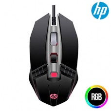 Mouse Gamer USB 5 Botões 2400Dpi LED RGB HP M270 Preto