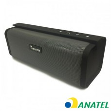 Caixa de som Bluetooth Elite KIMASTER - SO331 Cinza