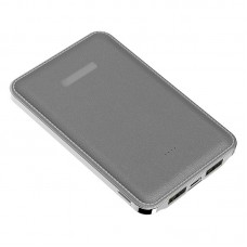Power Bank Slim 2USB Kimaster - 5000mAh - E13 Chumbo