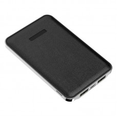 Power Bank Slim 2USB Kimaster - 5000mAh - E13 Preto