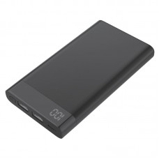 Power Bank Metal com Visor Digital Kimaster - 6000mAh - E37 Preto