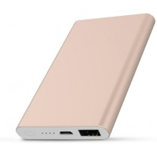 Power Bank Slim Metal Kimaster - 5000mAh - E61 Dourado