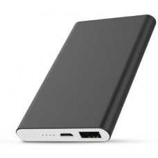 Power Bank Slim Metal Kimaster - 5000mAh - E61 Preto