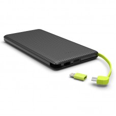 Power Bank Slim Kimaster - 5000mAh - PN952 Preto