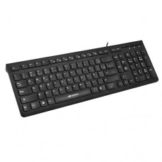 Teclado USB Multimídia KB-M60BK C3 Tech Preto