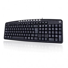 Teclado USB Multimídia KB2237-2BK C3 Tech Preto