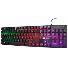 Teclado USB Gamer Semi-Mecânico Anti-Ghosting com LED KP-2043