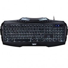 Teclado USB Gamer LED 7 Cores Anti-Ghosting TecDrive Ogum