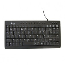 Mini Teclado USB Multimidia Standard Preto